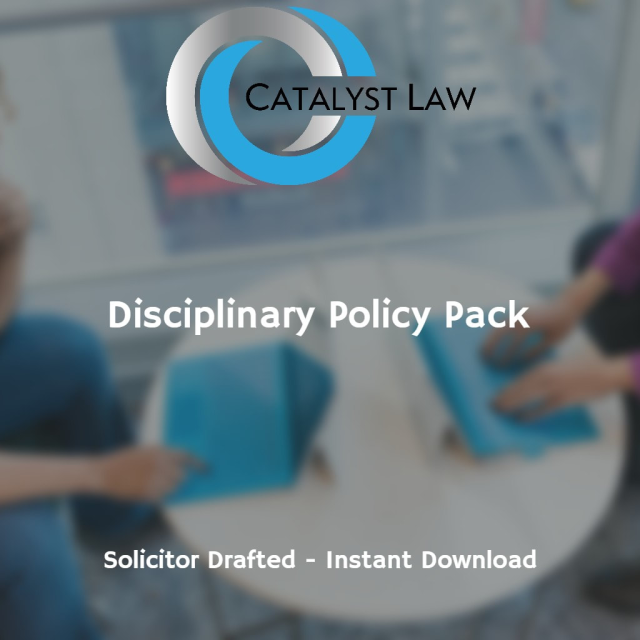 Disciplinary Policy and Procedure Pack